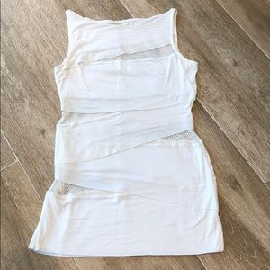 BAILEY 44 FUN WHITE TOP WITH MESH DETAIL